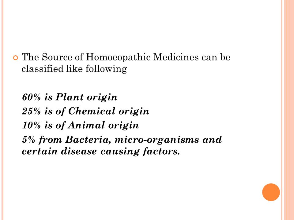The Source of Homoeopathic Medicines can be classified like following