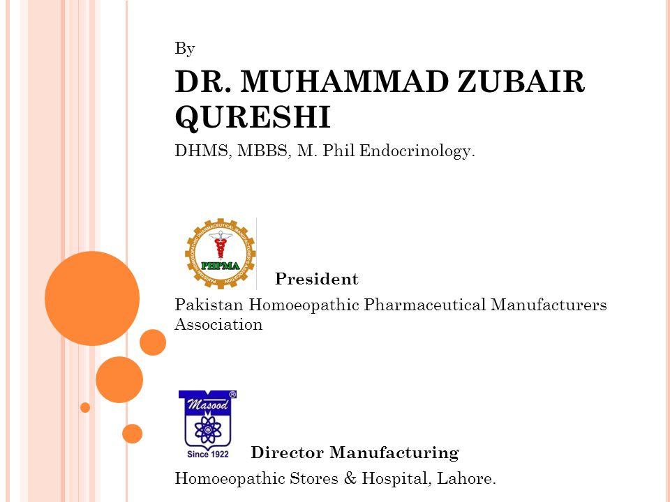 DR. MUHAMMAD ZUBAIR QURESHI