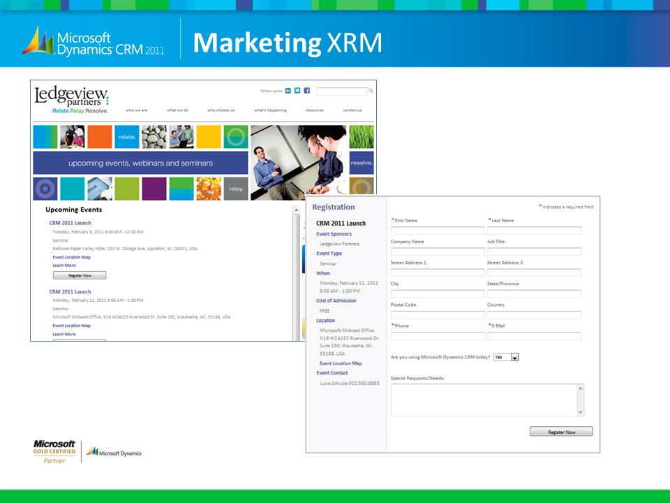 Marketing XRM