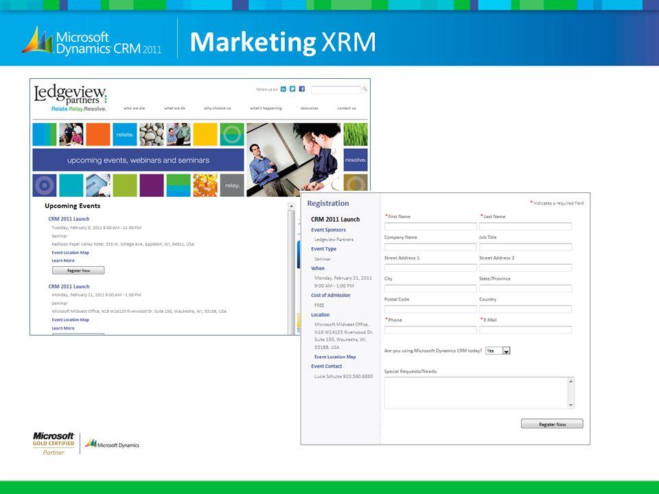 Marketing XRM