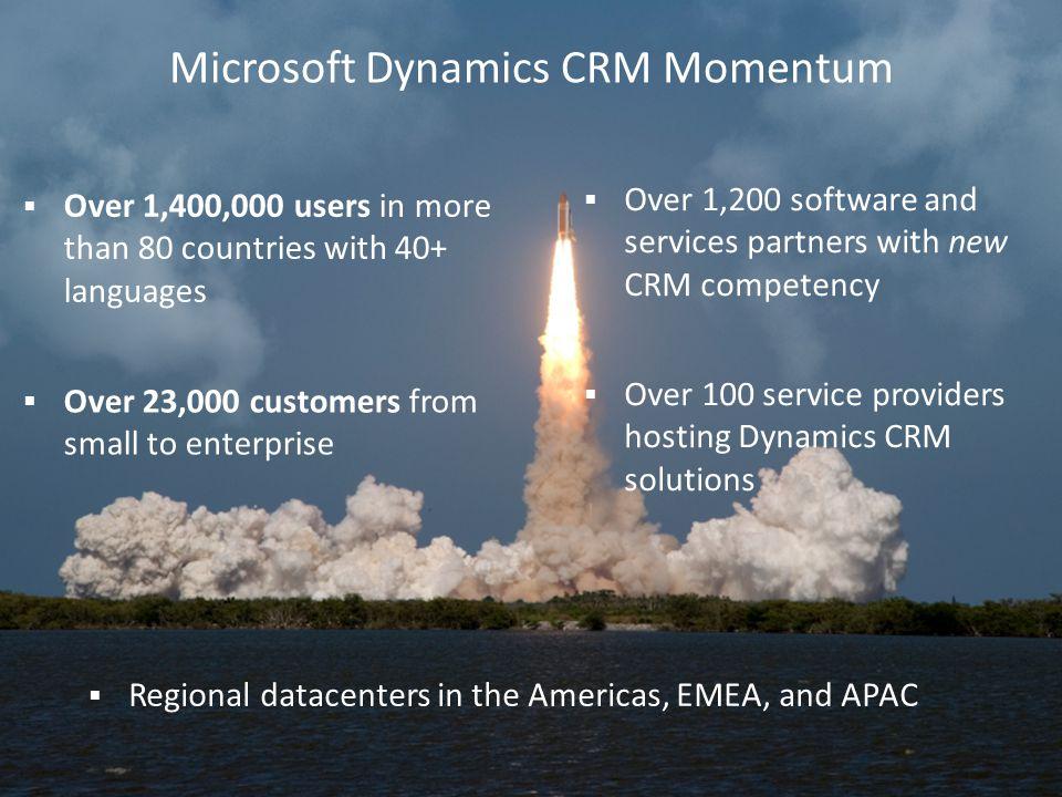 Microsoft Dynamics CRM Momentum