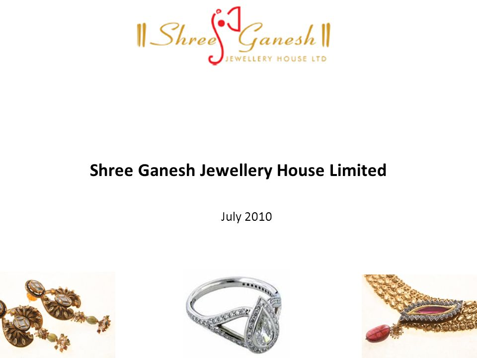 Shree Ganesh Jewellery House Limited