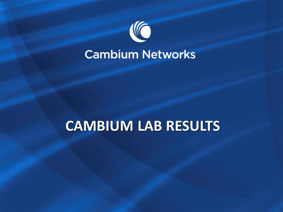 Cambium LAB RESULTS