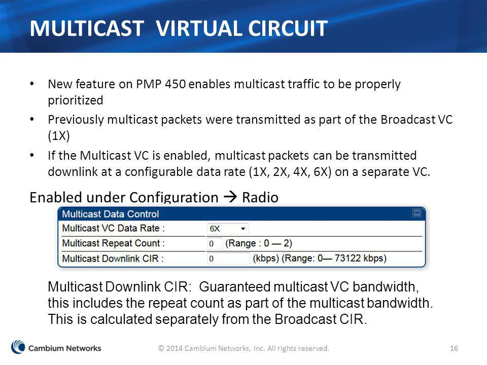 Multicast Virtual Circuit