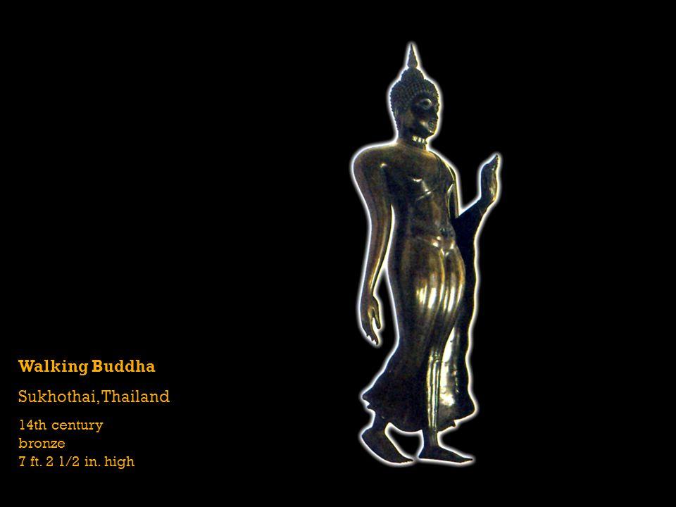 Walking Buddha Sukhothai, Thailand