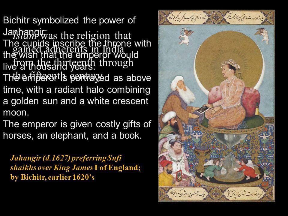 Bichitr symbolized the power of Janhangir;