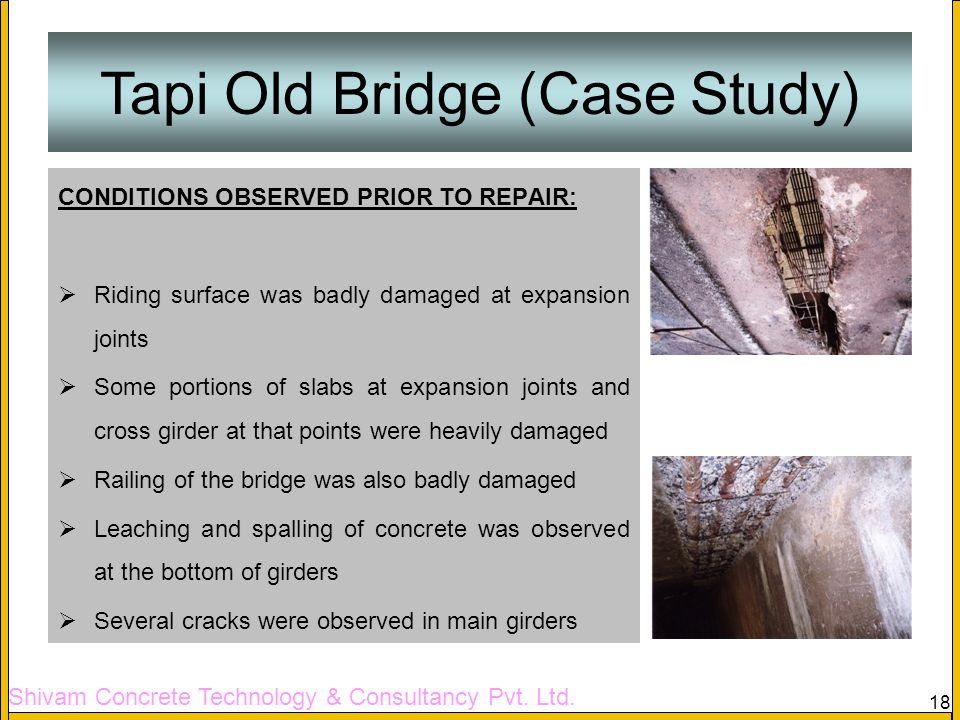 Tapi Old Bridge (Case Study)