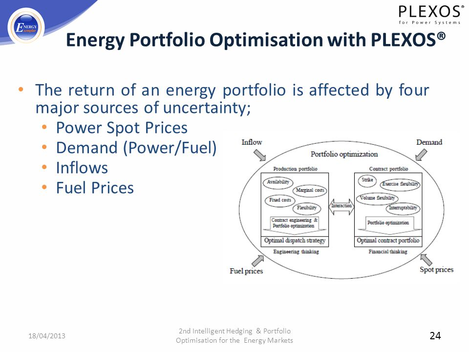 Energy Portfolio Optimisation with PLEXOS®