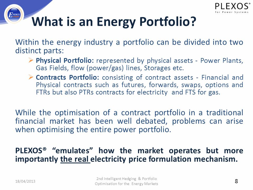 What is an Energy Portfolio