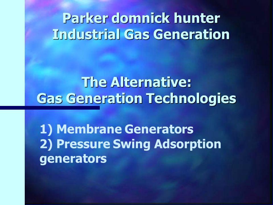 The Alternative: Gas Generation Technologies