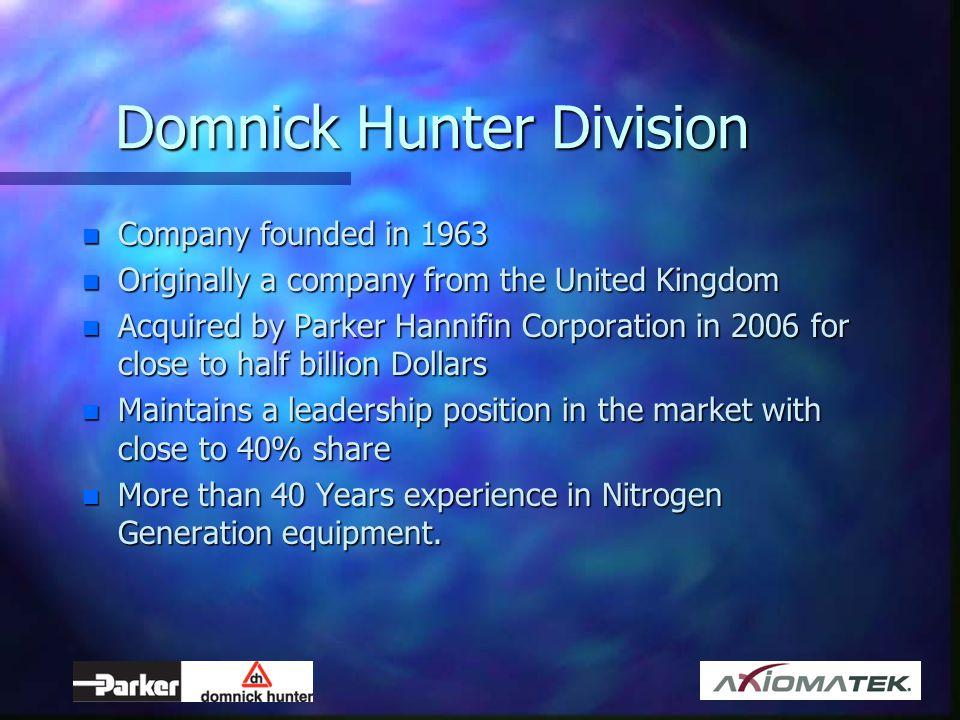 Domnick Hunter Division