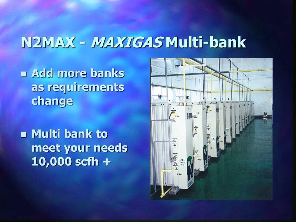 N2MAX - MAXIGAS Multi-bank