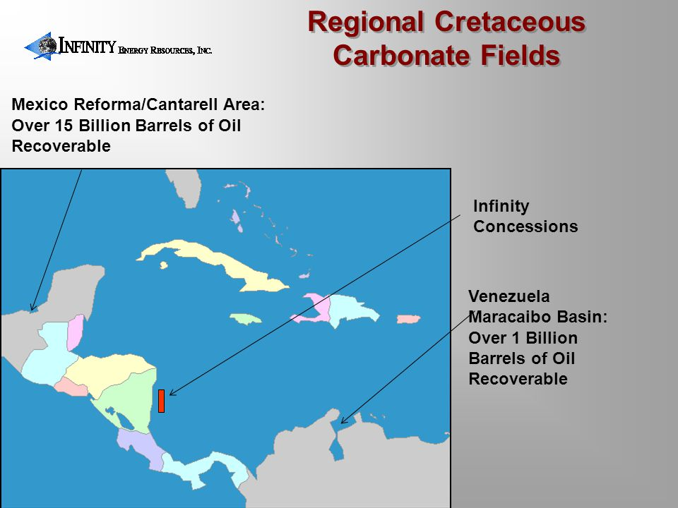 Regional Cretaceous Carbonate Fields