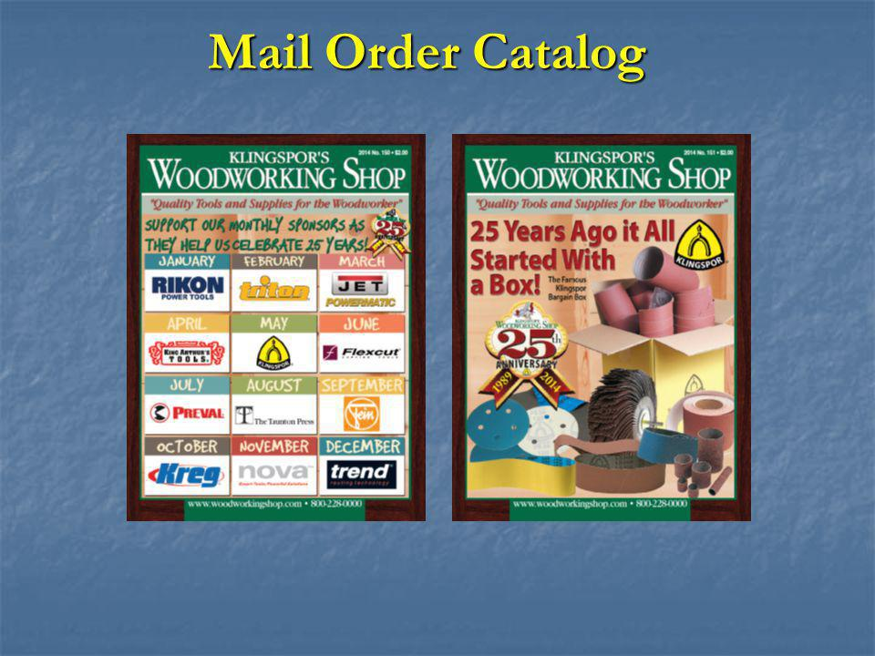 Mail Order Catalog