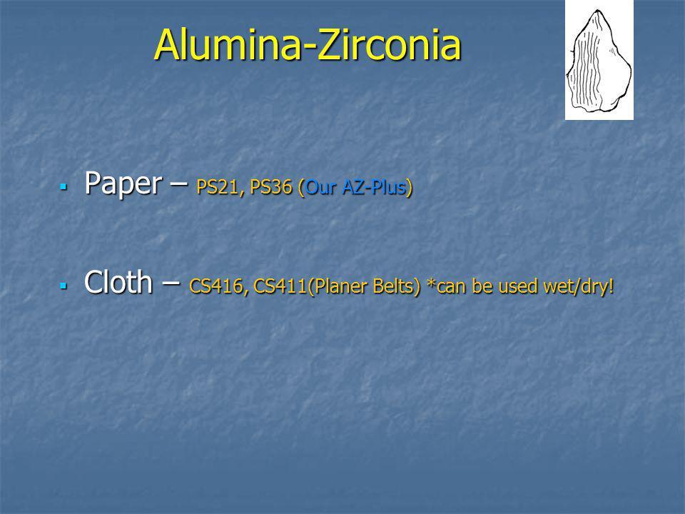 Alumina-Zirconia Paper – PS21, PS36 (Our AZ-Plus)