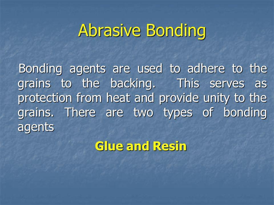 Abrasive Bonding Glue and Resin