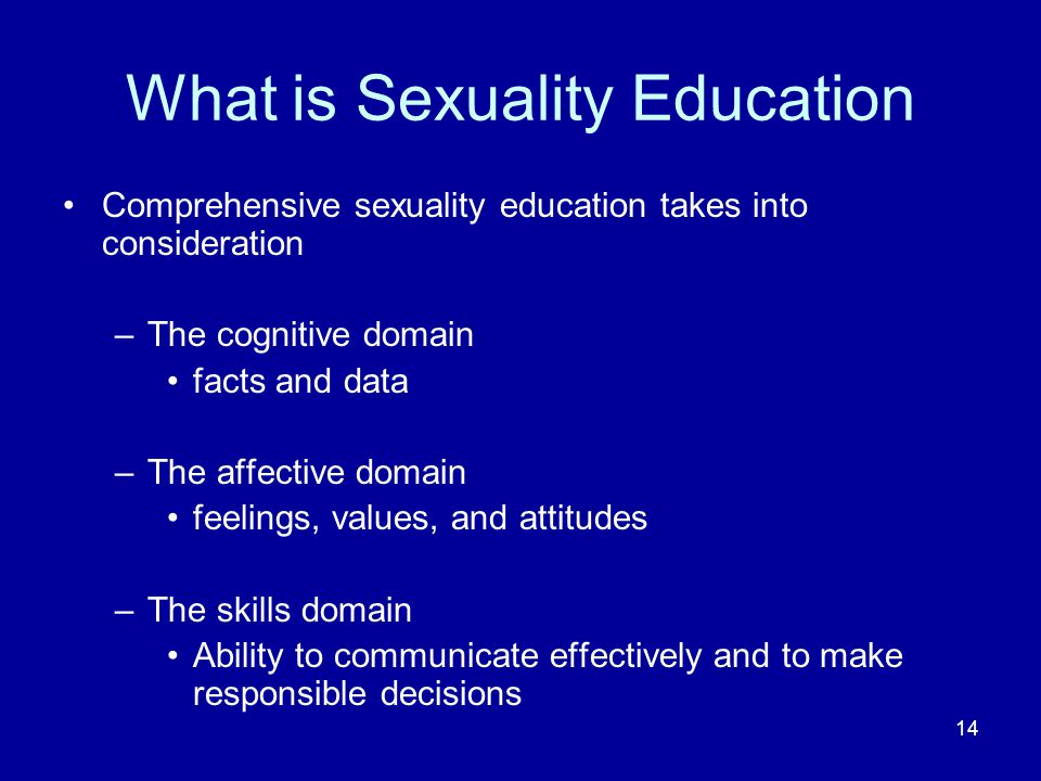 What is Sexuality Education
