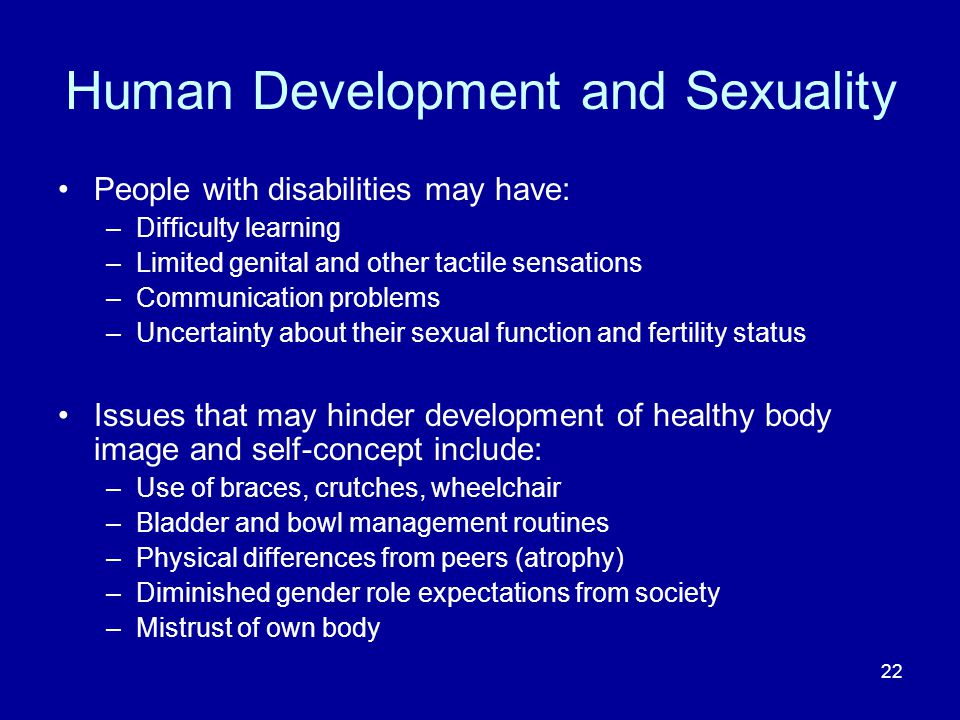 Human Development and Sexuality