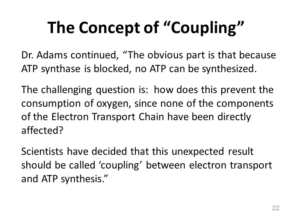 The Concept of Coupling