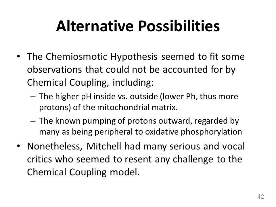 Alternative Possibilities