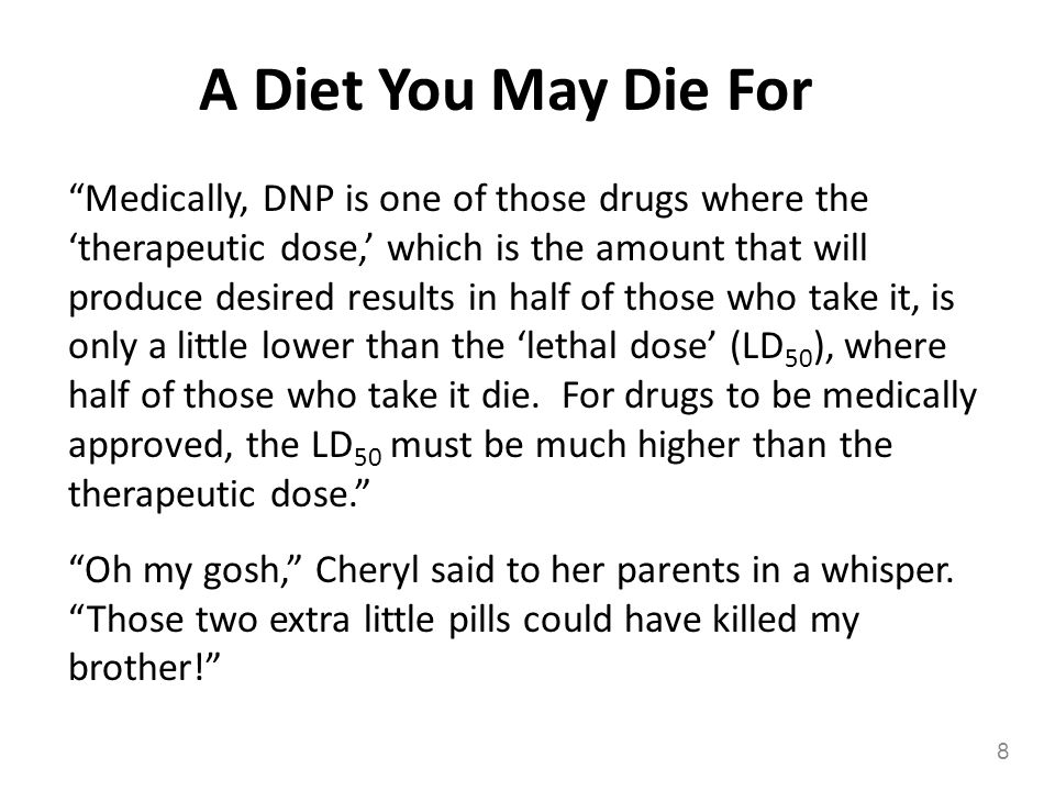 A Diet You May Die For