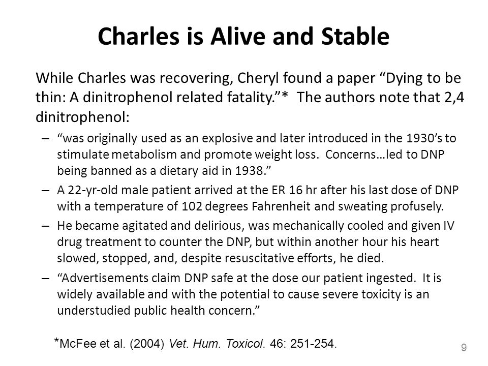 Charles is Alive and Stable