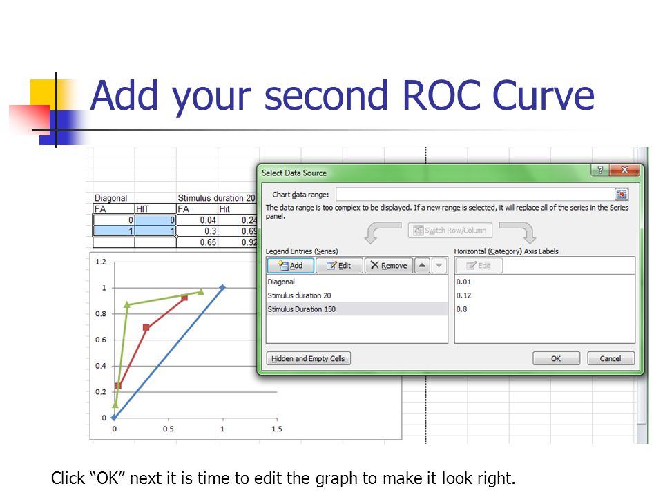 Add your second ROC Curve