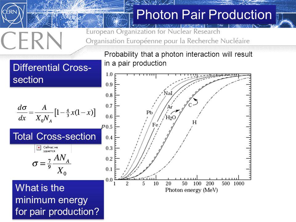 Photon Pair Production
