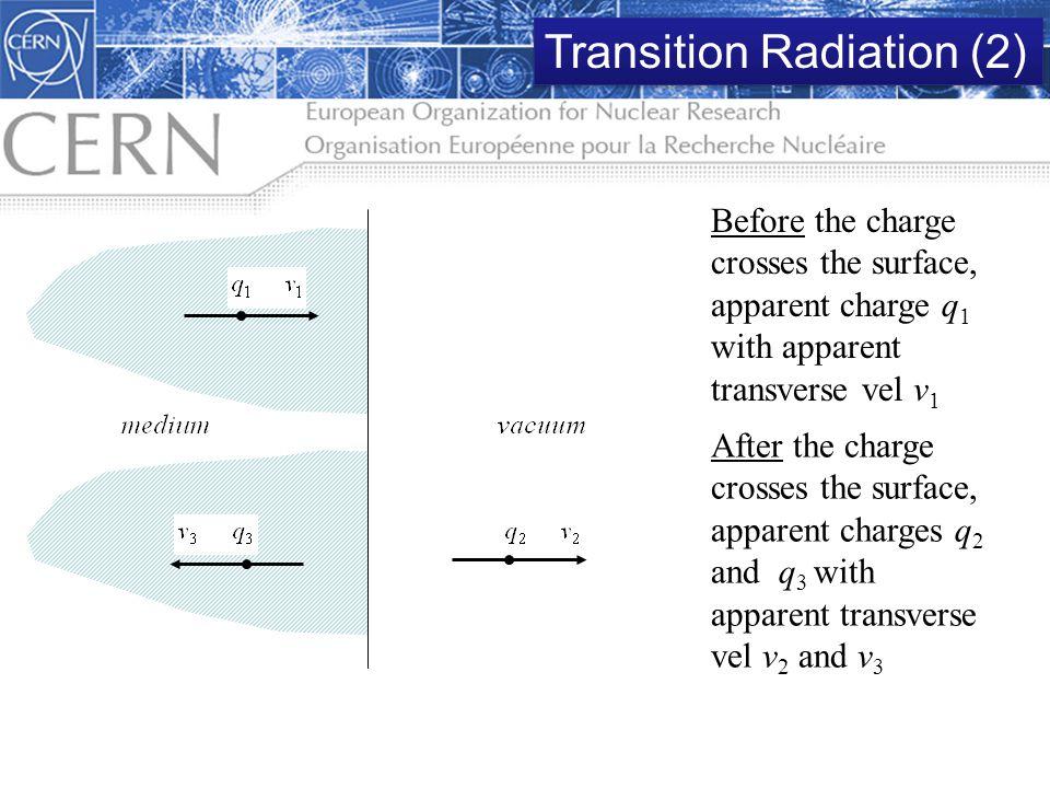 Transition Radiation (2)