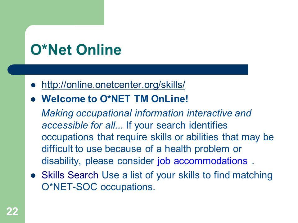 O*Net Online http://online.onetcenter.org/skills/