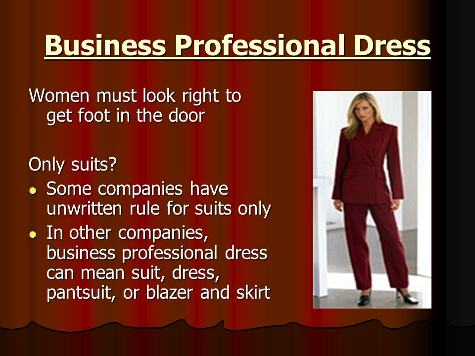 Business Professional Dress