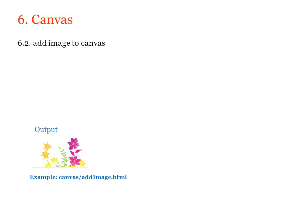 6. Canvas 6.2. add image to canvas Output