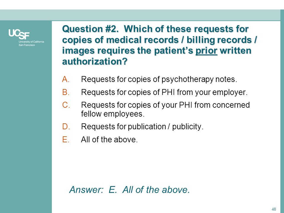 Answer: E. All of the above.