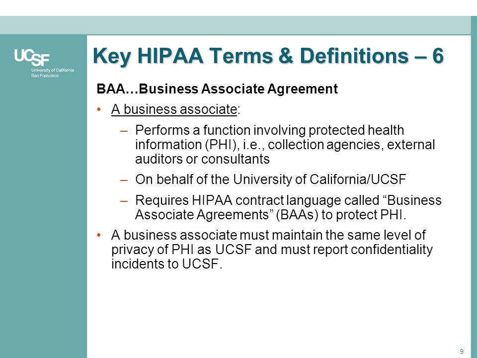 Hipaa Business Associate Agreement Click The Image To Download