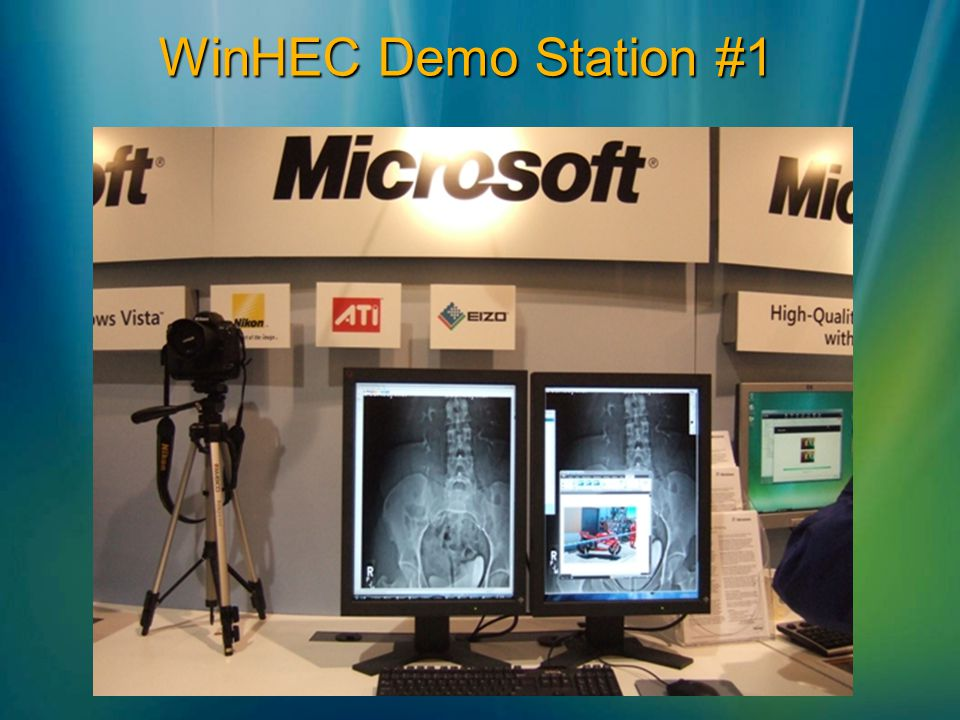 WinHEC Demo Station #1