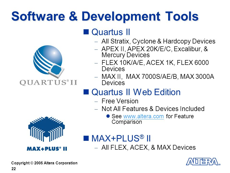 Software & Development Tools