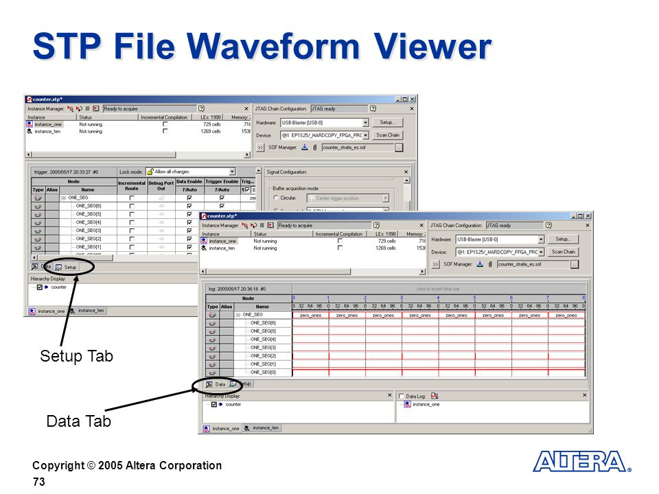 STP File Waveform Viewer