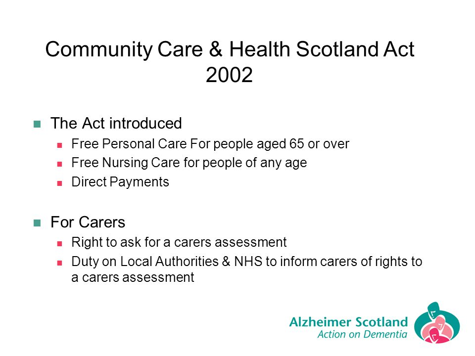 Community Care & Health Scotland Act 2002