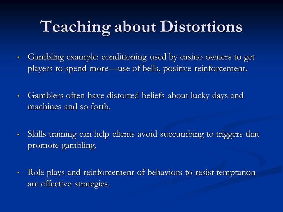Teaching about Distortions