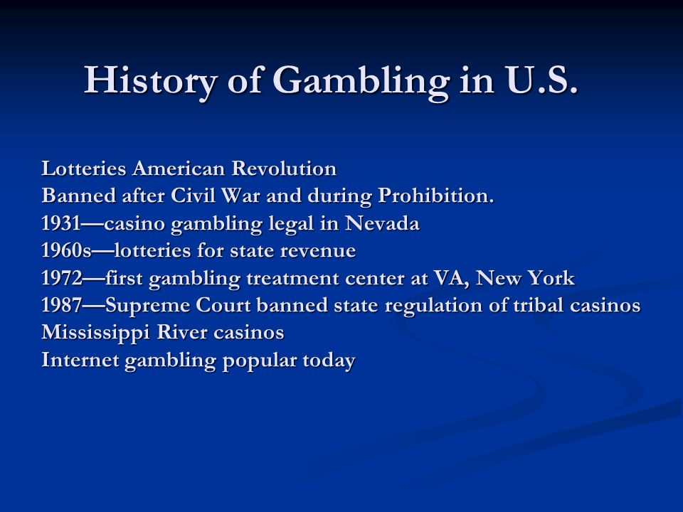 history of gambling 1864 nevada becomes the 36th state (october 31) 1869 nevada decriminalizes certain forms of gambling storey county (virginia city) becomes the most populous county in.