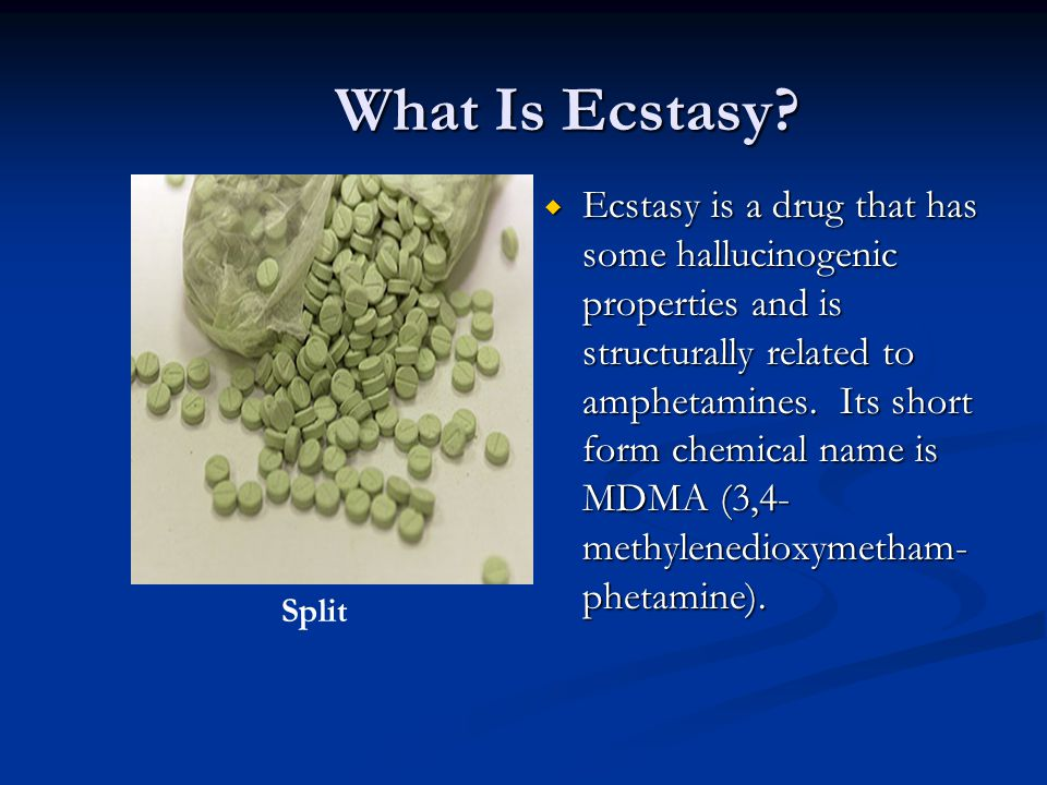 What Is Ecstasy