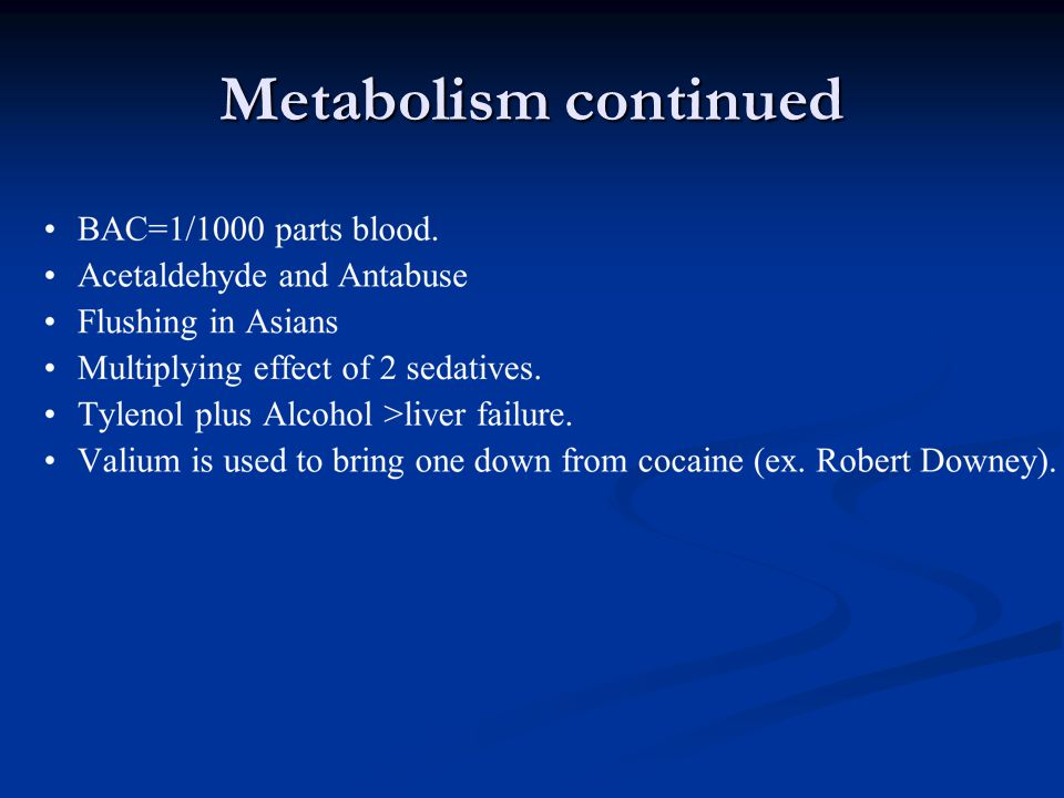 Metabolism continued