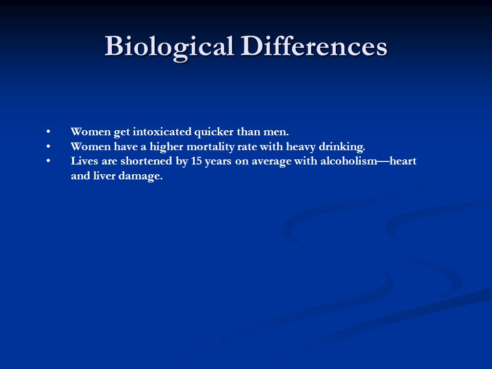 Biological Differences