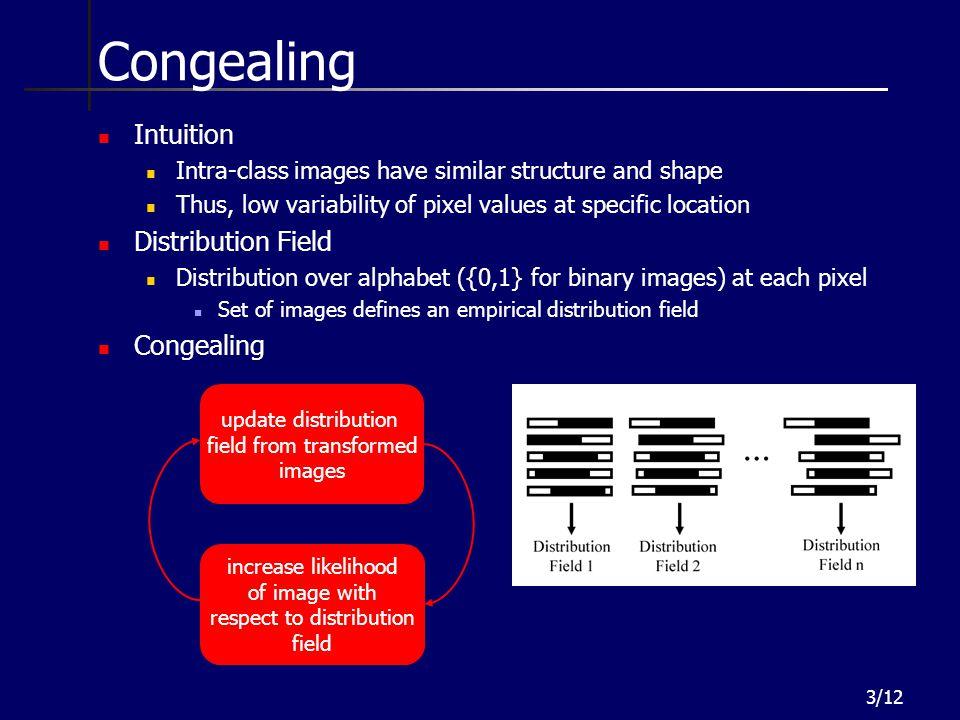 Congealing Intuition Distribution Field Congealing