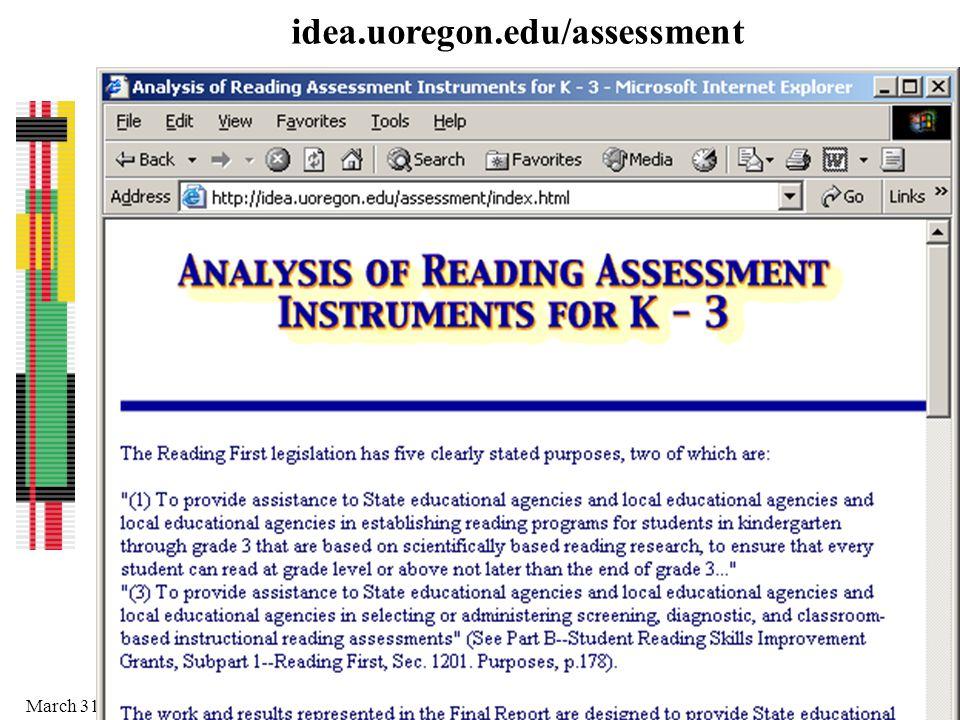 idea.uoregon.edu/assessment