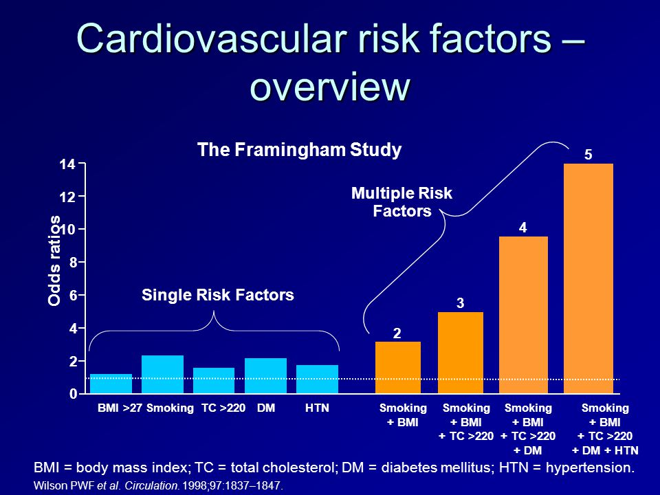 Cardiovascular risk factors – overview
