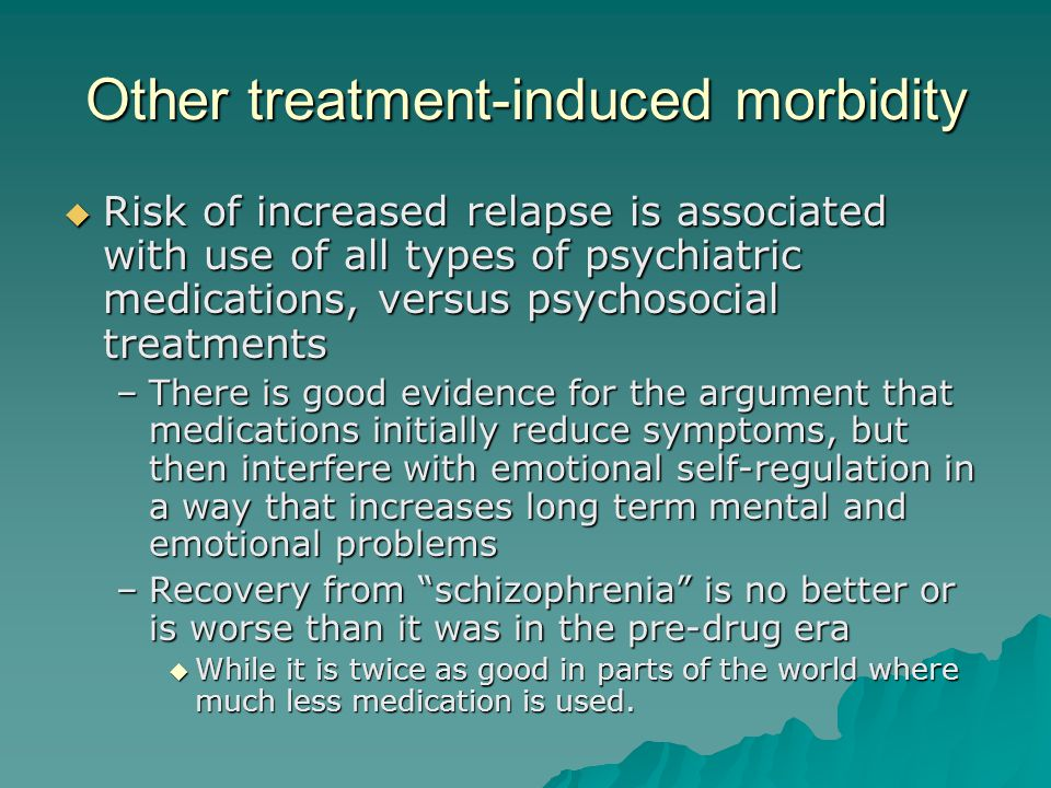 Other treatment-induced morbidity