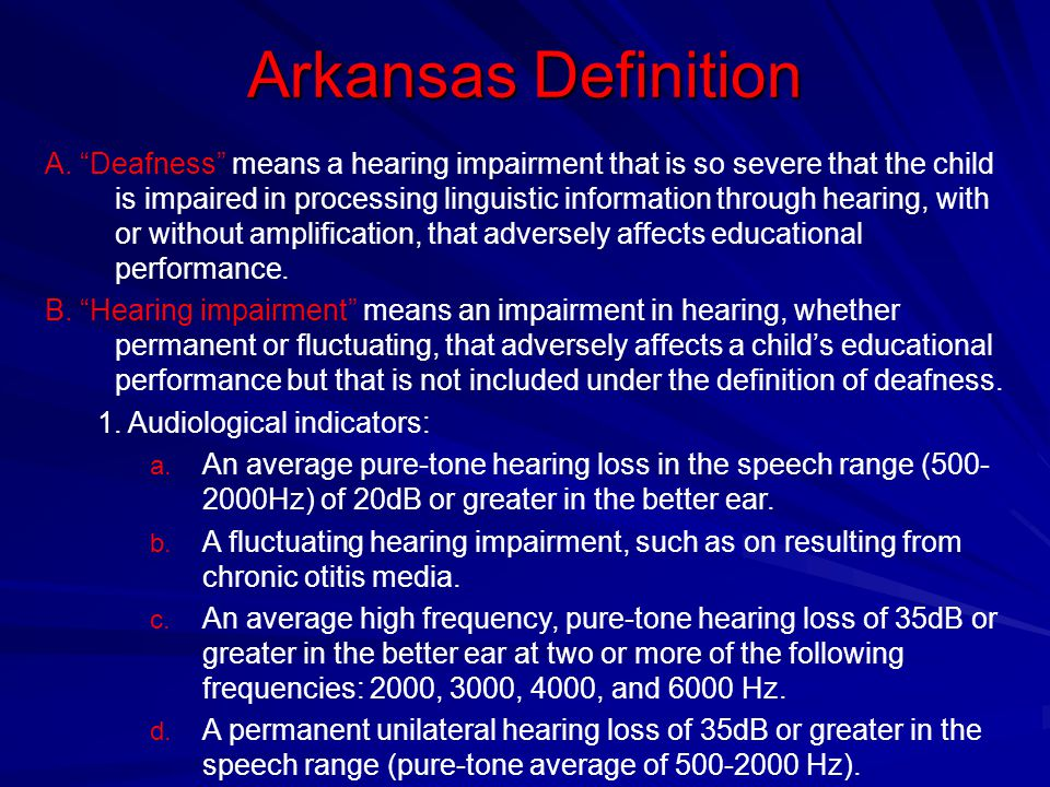 Arkansas Definition