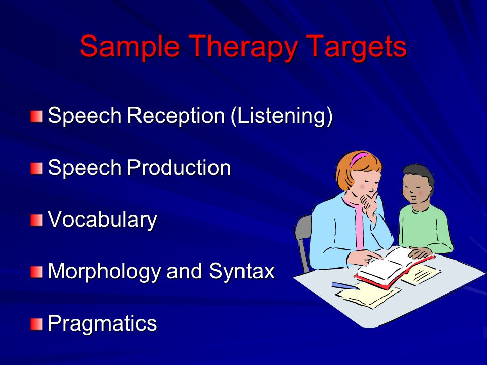 Sample Therapy Targets