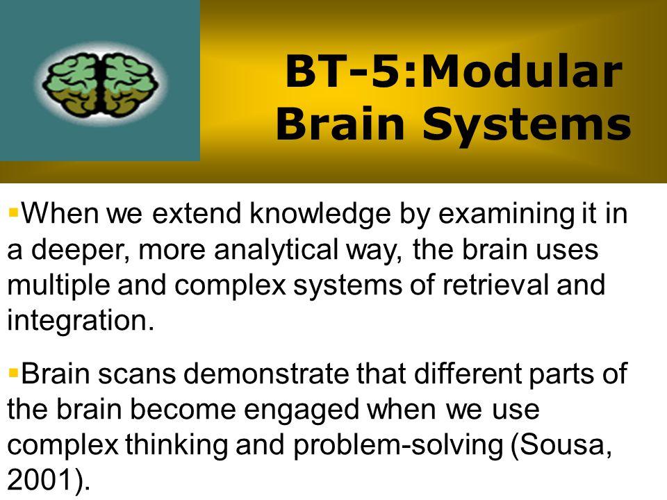 BT-5:Modular Brain Systems